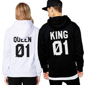 vendita felpe king queen